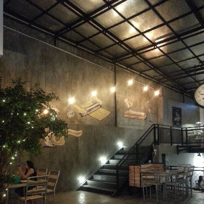Manufacture Interior Furniture Bandung Project Cafe Mr. J