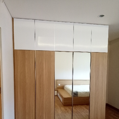 Manufacture Interior Furniture Bandung wardrobe
