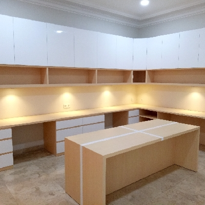 Manufacture Interior Furniture Bandung Project Study Room Mr. E